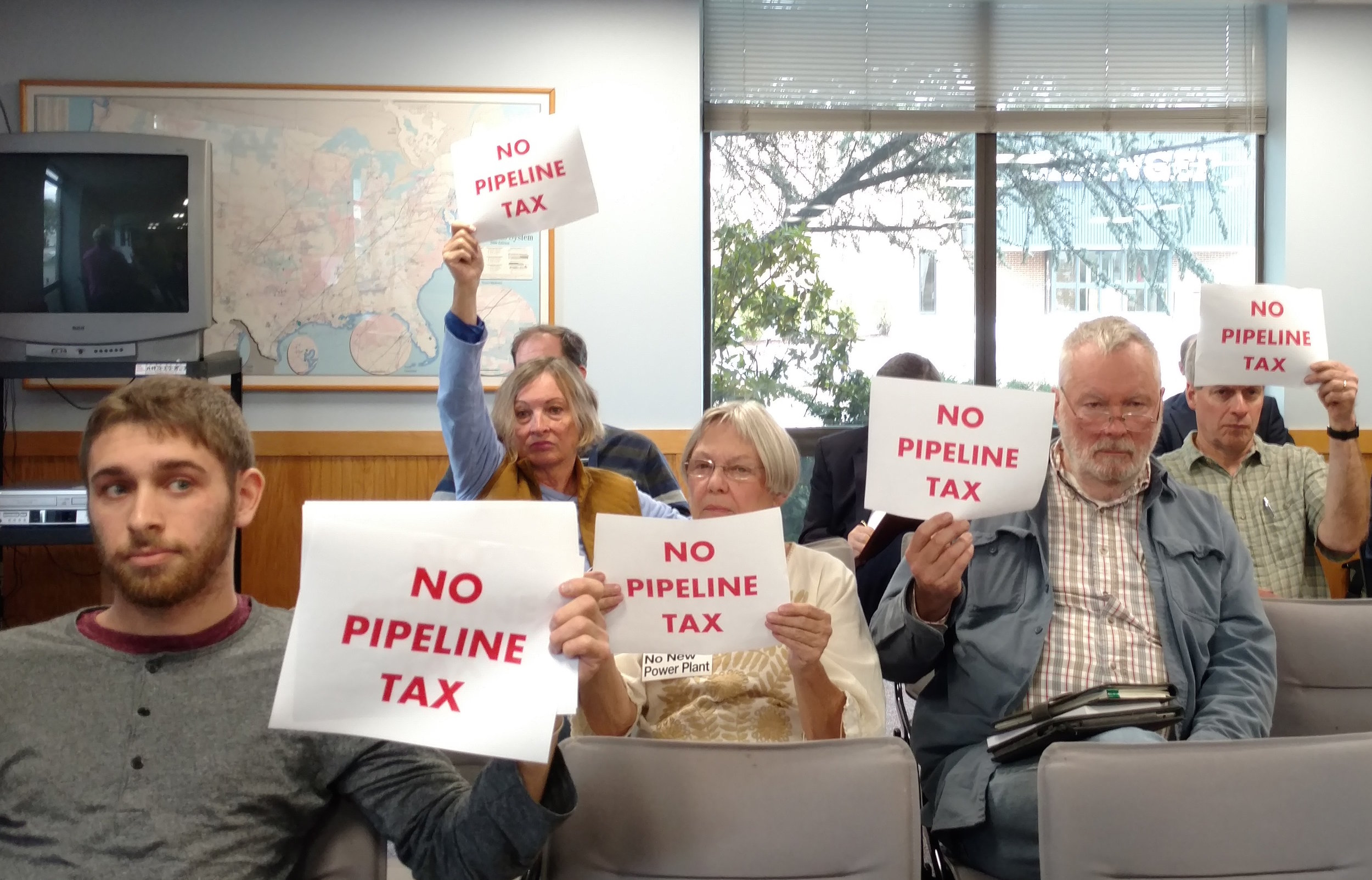 Pipeline tax opponents see the PUC's ruling as a sign of the inevitable. (Tim Faulkner/ecoRI News)