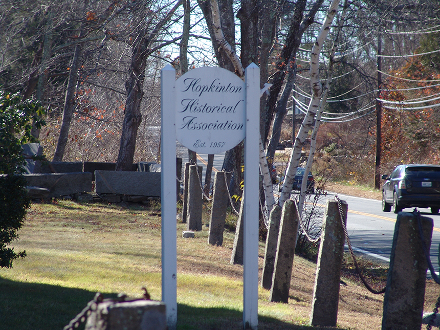 Both a travel plaza and truck stop are being considered for forested lands in Hopkinton. (Frank Carini/ecoRI News)