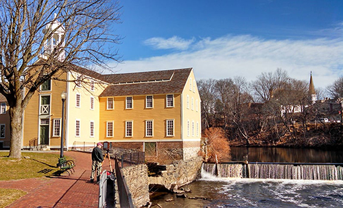 Pawtucket's Slater Mill was built in 1793 on the banks of the Blackstone River. (ecoRI News)