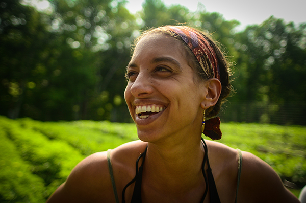 Leah Penniman's work on Soul Fire Farm weaves together issues of social justice and spirituality with access to healthy food. (Courtesy photo)