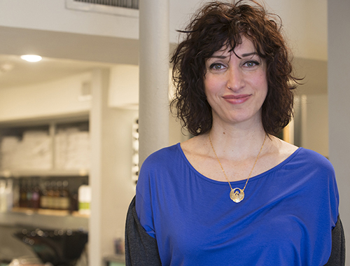 Owner Jo-Anna Cassino makes all of the salon's plant-based skin-care products and perfumes.