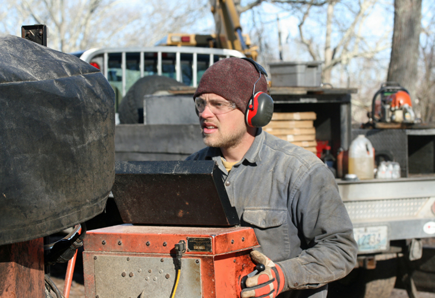 R I  Woodworker Hits the Road with Portable Sawmill — ecoRI News