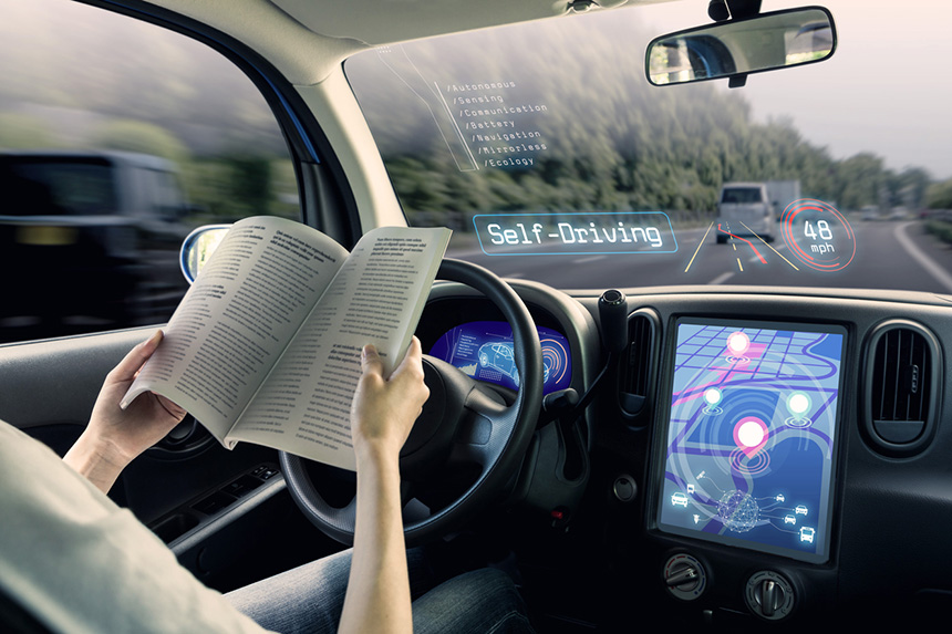 Connected and autonomous vehicle technology is the term describing the integration of old and new within the transportation sector. (istock)