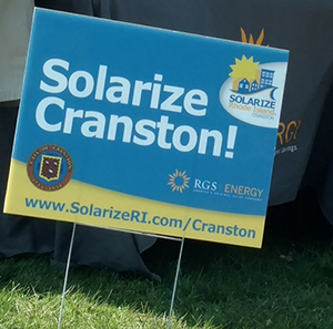 As more Solarize customers sign up, the price for installation drops. (Tim Faulkner/ecoRI News)