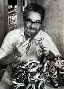 Zoologist James Lazell discovered some 30 species.