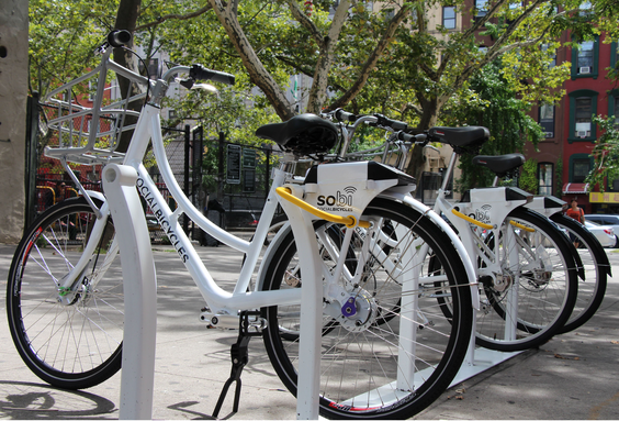 Providence's bike-share program will have 400 bikes, three kiosks, and 40 bike stations. (Social Bicycles)