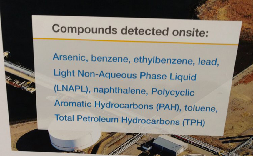 National Grid doesn't use the word 'contaminated' to describe the polluted soil and groundwater on the proposed site for its second LNG tank on the Providence waterfront. It refers to the contaminants as 'certain compounds present that are above DEM limits.' Those certain compounds include arsenic, benzene and lead. (ecoRI News)