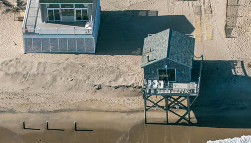 Rhode Island is losing a millimeter of ground annually. That may not seen like a lot, but combined with sea-level rise, it's playing a meaningful role in present-day flooding. (John Supancic)