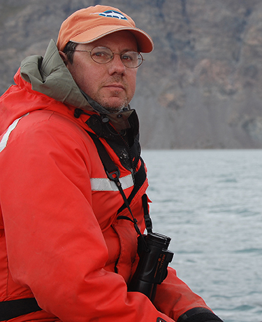The Burrillville, R.I., author focuses his writing on threatened and endangered animals. (Courtesy photo)