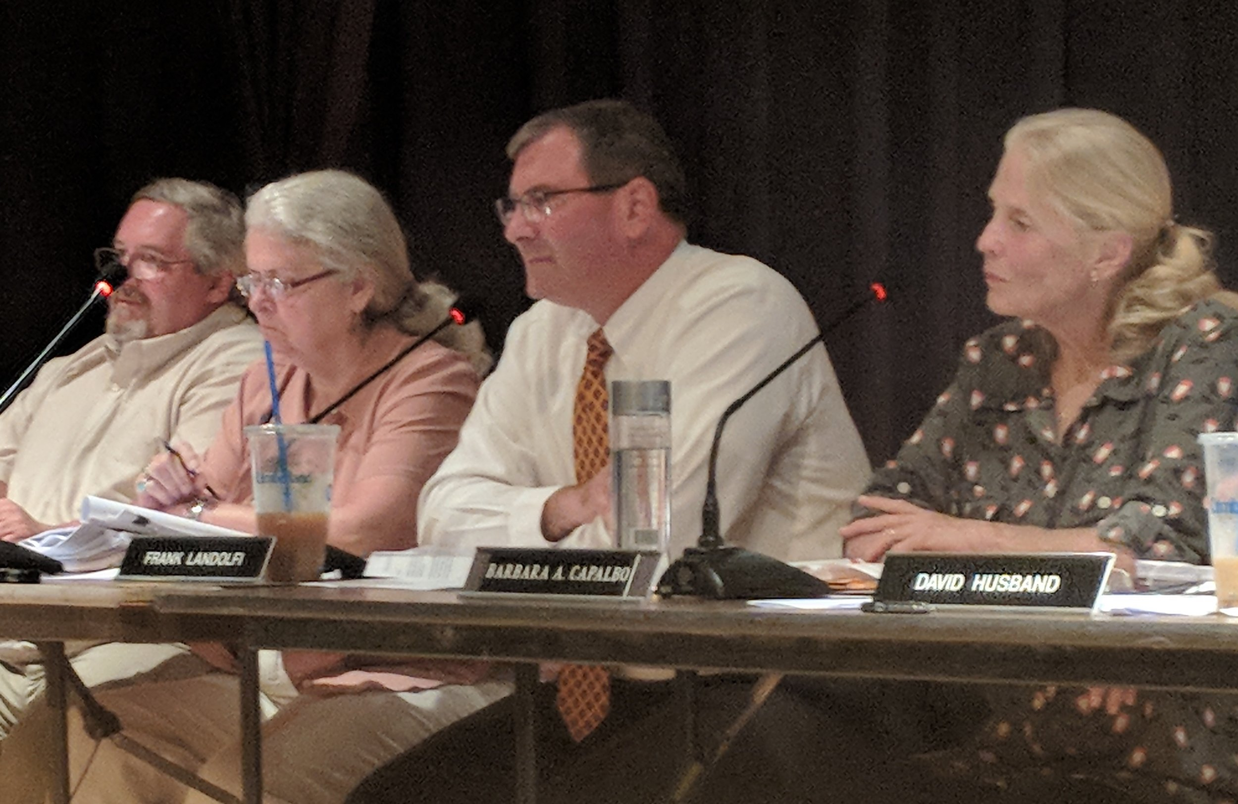 The Hopkinton Town Council has several commercial solar projects to consider. (Tim Faulkner/ecoRI News photos)