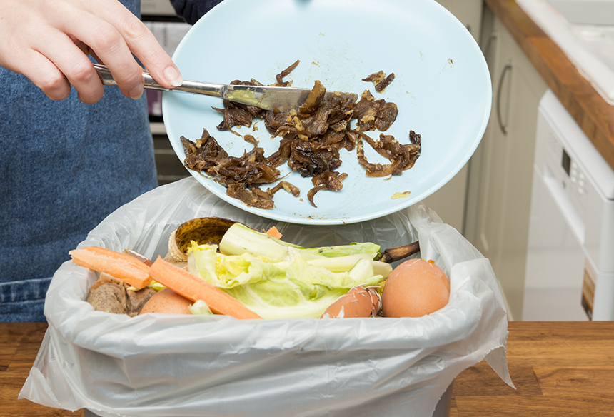 More than 60 percent of wasted food comes from residential sources. (istock)