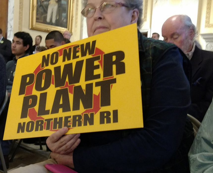 Opponents of the proposed Burrillville, R.I., fossil-fuel power plant have been vocal about their concerns for the past four-plus years. (ecoRI News)