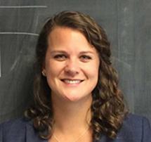 Assistant professor Elizabeth Mendenhall. (URI)
