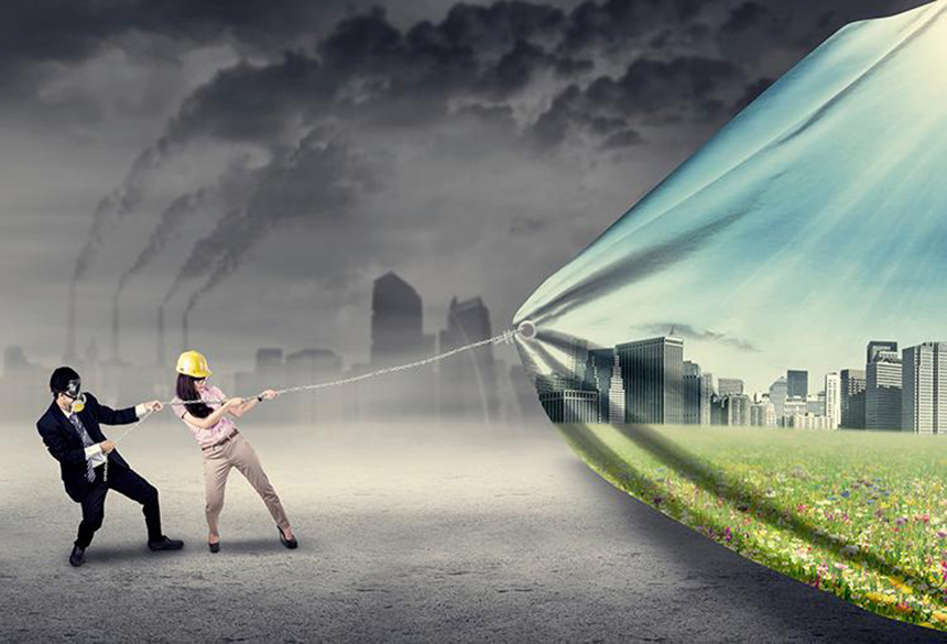 Dealing with climate change requires more than holding possible solutions for further study and kicking the problem into the future. It requires hard work and making difficult decisions. (istock)