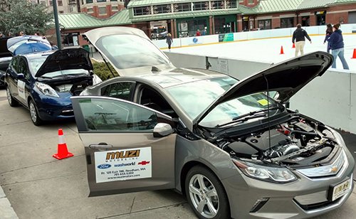 Rhode Island has 86 public and five private charging stations for electric vehicles. (ecoRI News)
