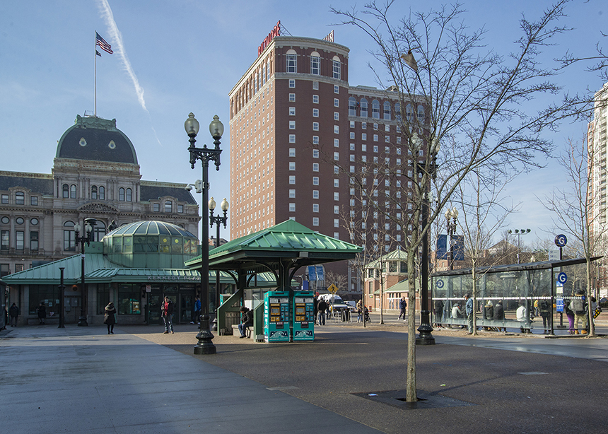 Critics of the lawsuit say it will delay an ongoing redesign that looks to transform the center of Providence into a intermodal transportation hub. (Joanna Detz/ecoRI News photos)
