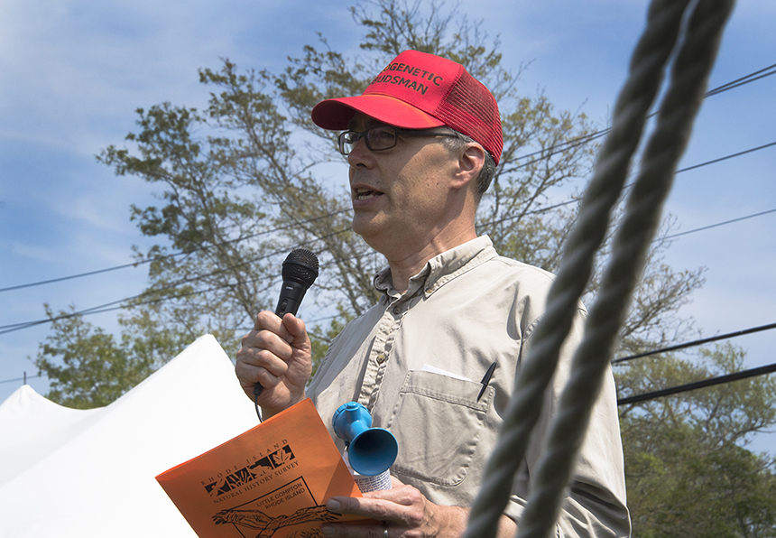 David Gregg has been the executive director of the Rhode Island Natural History Survey for the past 15 years. (ecoRI News)