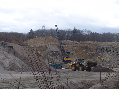 Hopkins Hill Sand & Stone operates a quarry that borders the Big River Management Area.