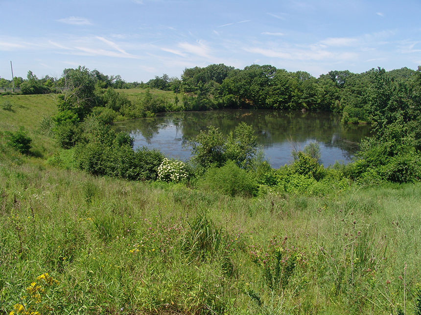 Mashapaug Pond Park is now one of four public parks that surround Providence's largest freshwater body. (Frank Carini/ecoRI News photos)