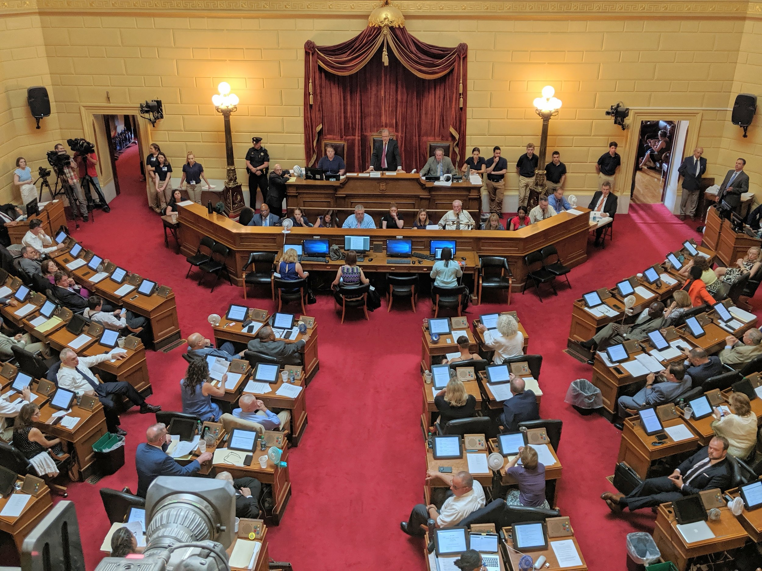 The Rhode Island House of Representative. (Tim Faulkner/ecoRI News)