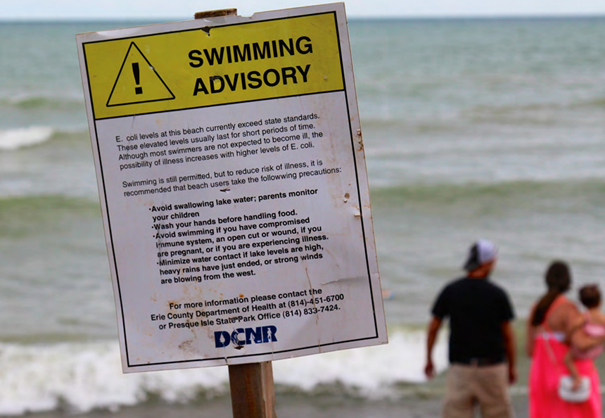 Last summer there were 871 beach closures nationwide. (Environment America)