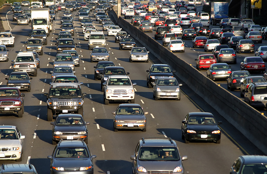 About 40 percent of Rhode Island's annual fossil-fuel emissions are produced by the state's transportation sector. (istock)