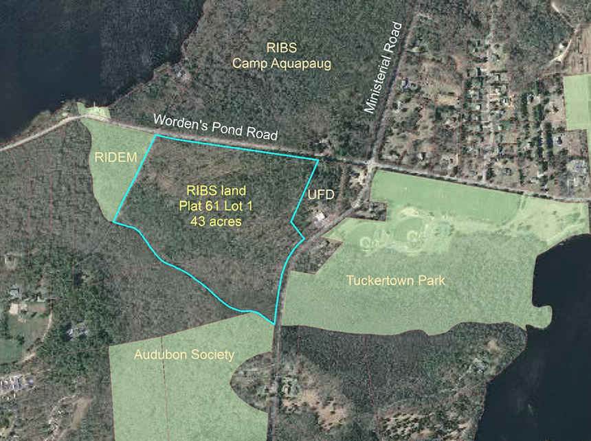 The South Kingstown Land Trust recently protected 43 acres of open space once owned by the Boy Scouts of Rhode Island. (SKLT)