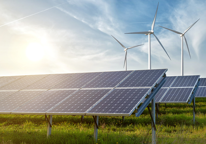 The Rhode Island Progressive Democrats of America is working on a plan that would transform Rhode Island into a sizable producer of solar, tidal, and onshore wind power. (istock)