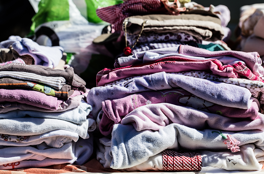 More than 80 percent of all clothing ends up in landfills or is incinerated. (istock)