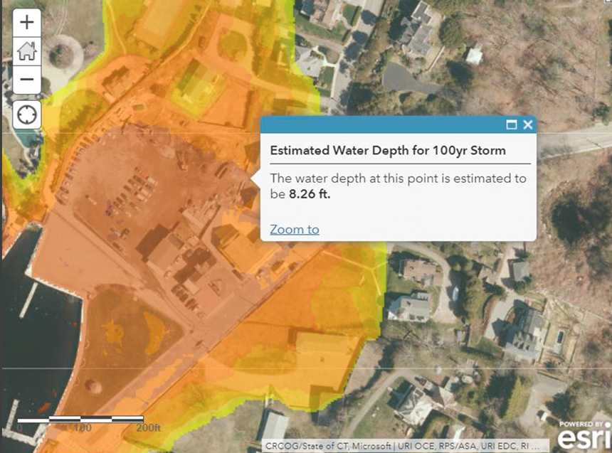 STORMTOOLS will soon add a coastal environmental risk index that will show the level of risk in damage to property from sea-level rise and storm surge.
