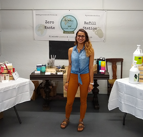 Ana Duque opened her business to bring an affordable zero-waste movement and refill-station concept to more Rhode Island communities.