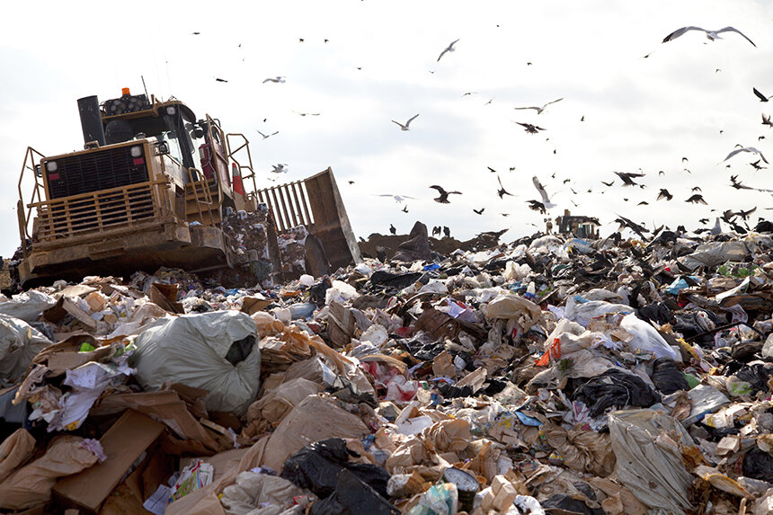 Southern New England is quickly running out of landfill space. (istock)
