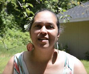 Lorén Spears of the Narragansett Indian Tribe. (ecoRI News)