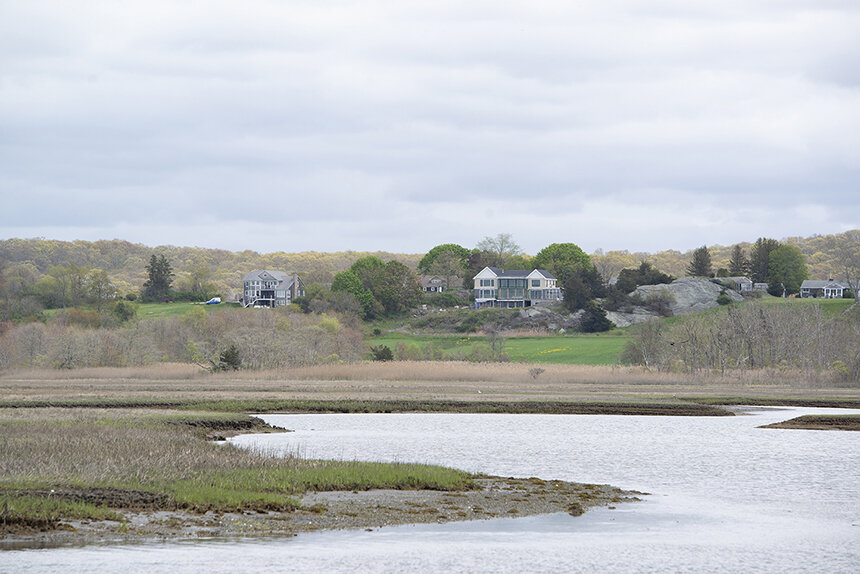 Coastal wetlands, such as Sapowet Marsh in Tiverton, have long played an important role in the lives of Indigenous people. (Joanna Detz/ecoRI News)