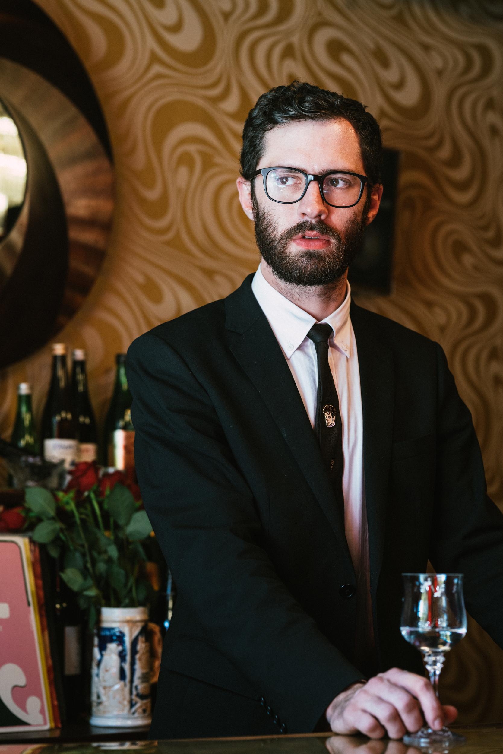 Matthew  Owner of Chandelier Sake Bar