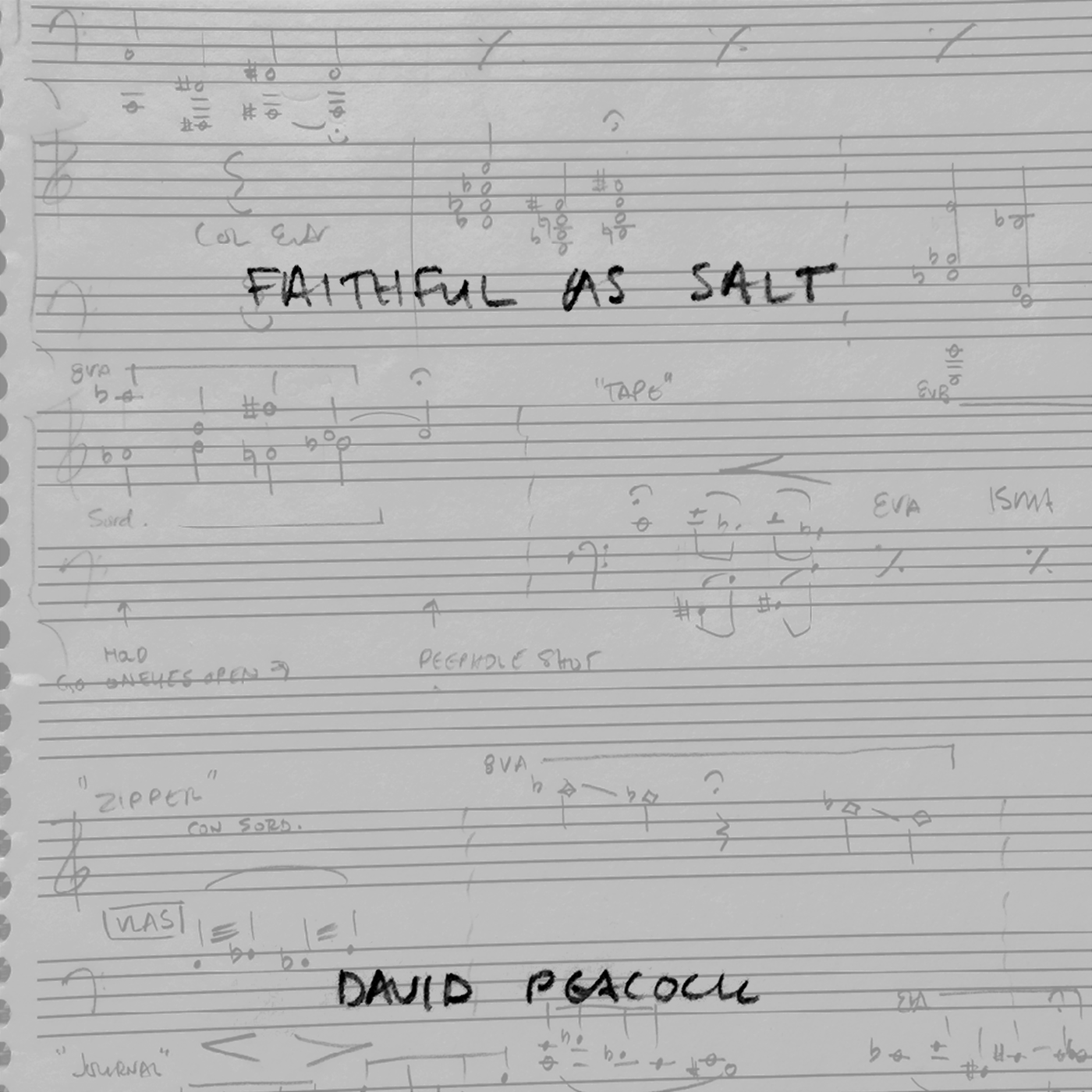 Faithful as Salt (Original Score)
