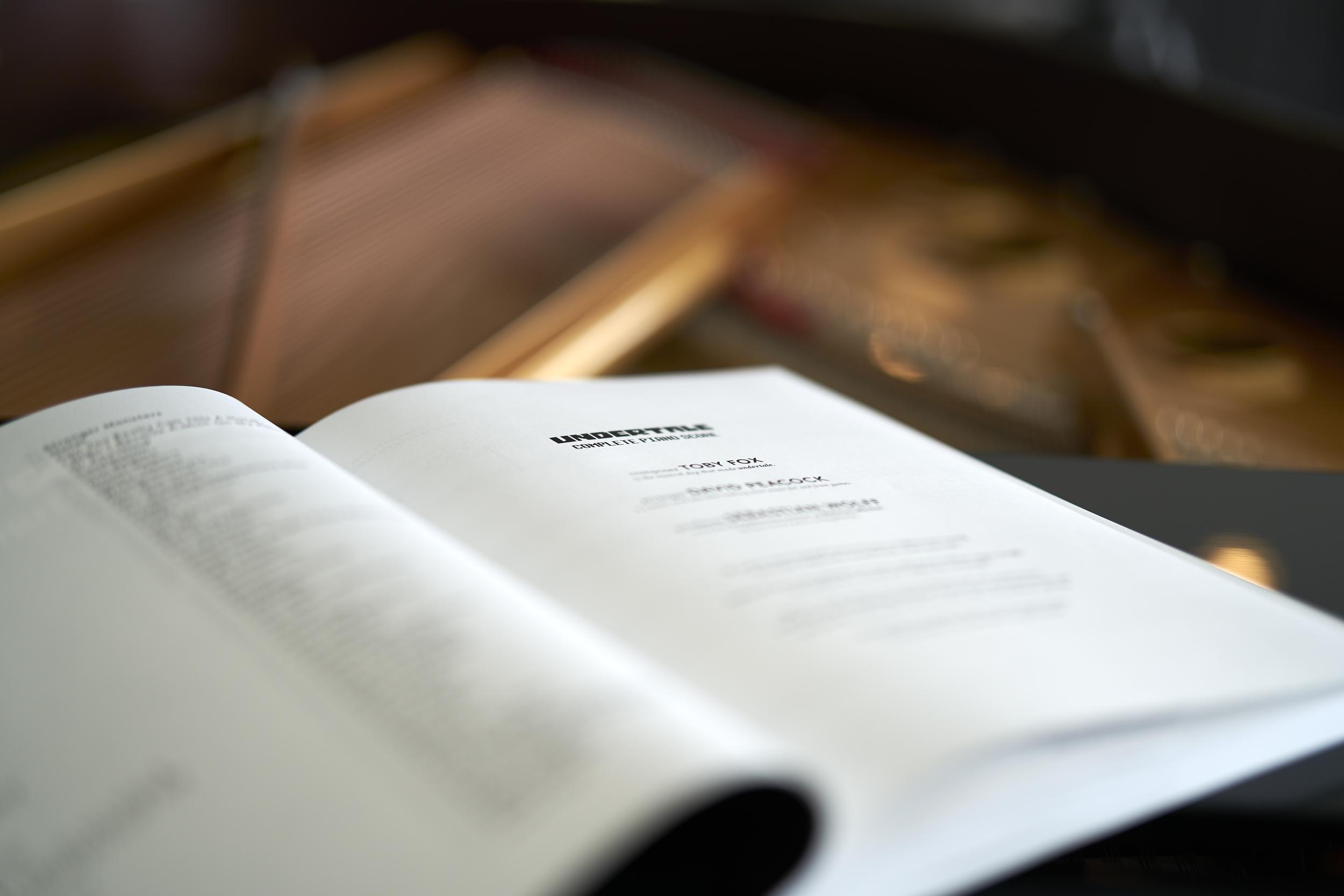 Entire UNDERTALE soundtrack for piano — David Peacock