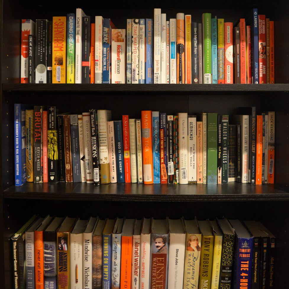 The Bookshelf: A Collection of My All-Time Favorite Books & Quotes -
