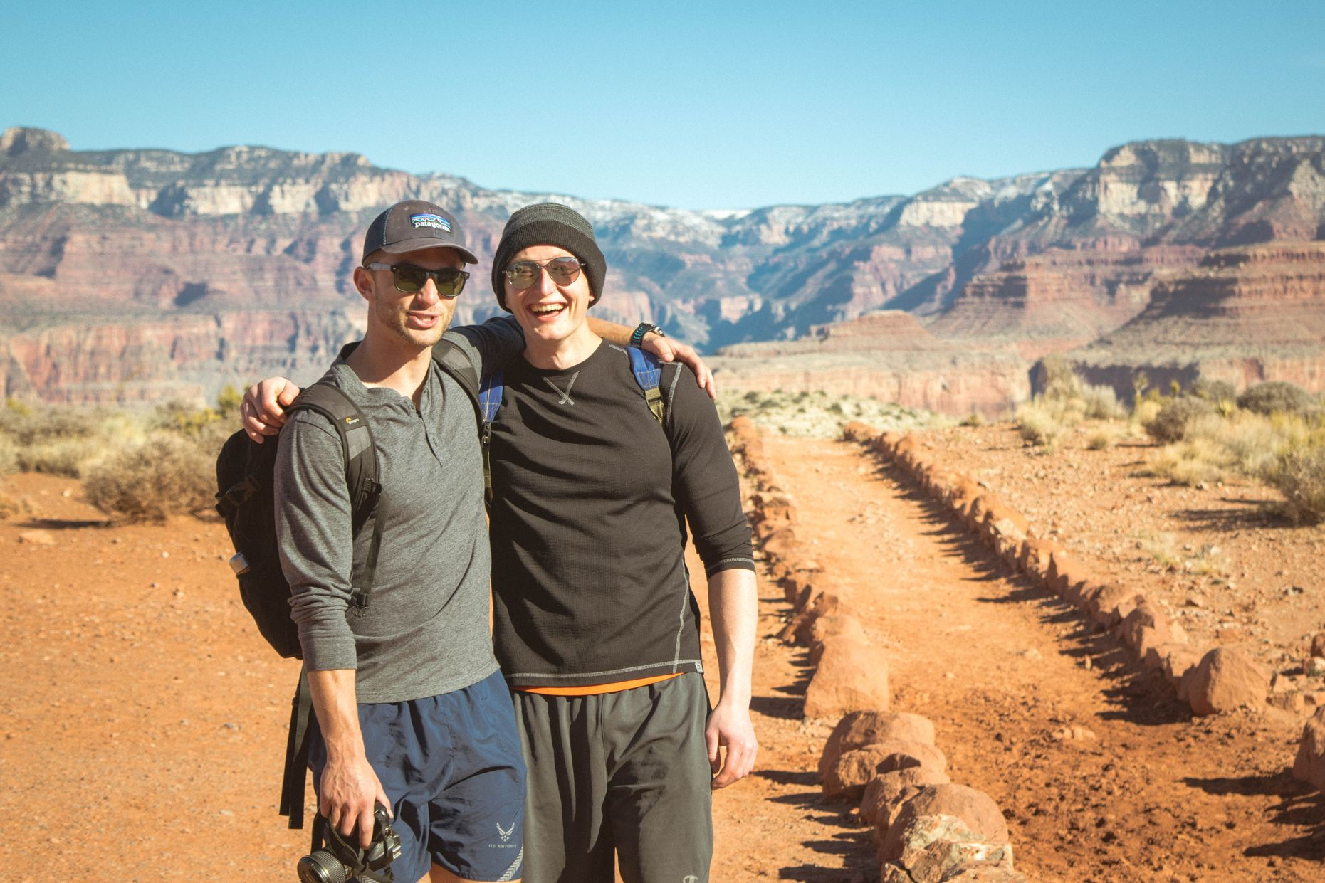The secret to enjoying the Grand Canyon is to go into the Grand Canyon.
