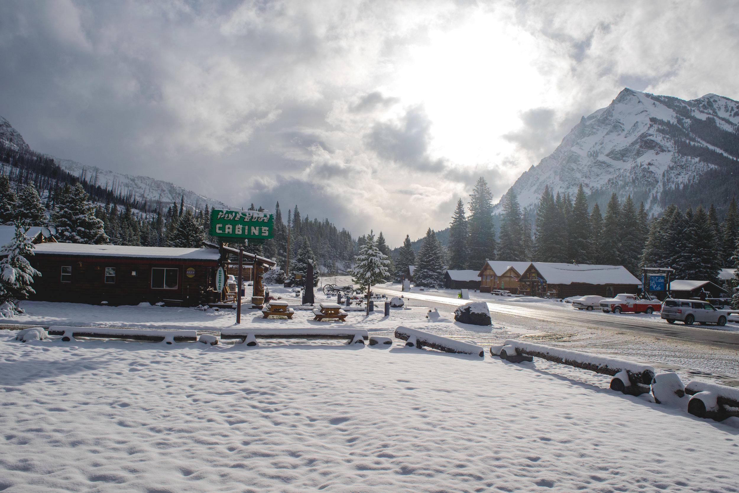 silver gate snow
