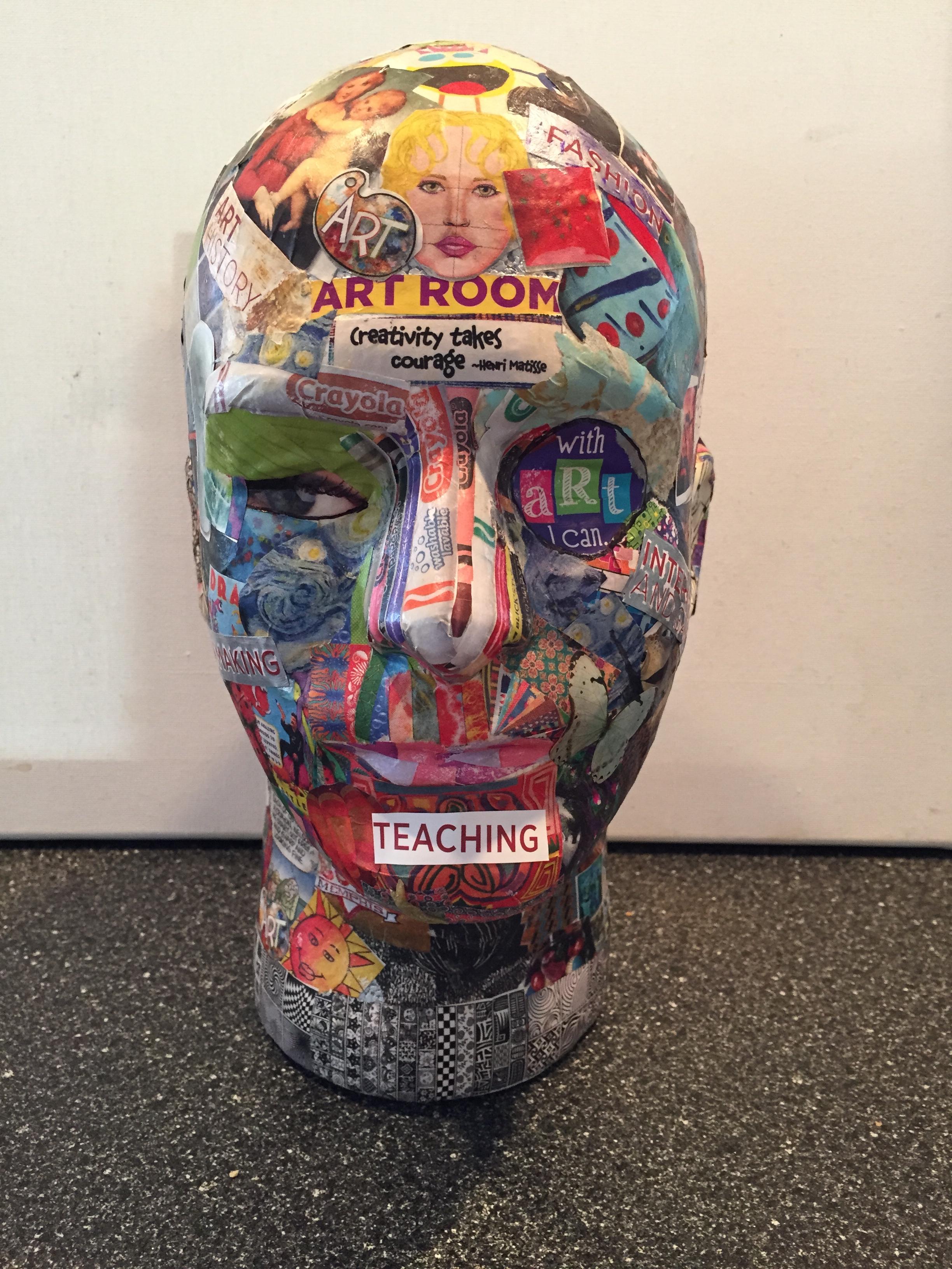 """""""Art Head"""" photo by Melody Weintraub"""