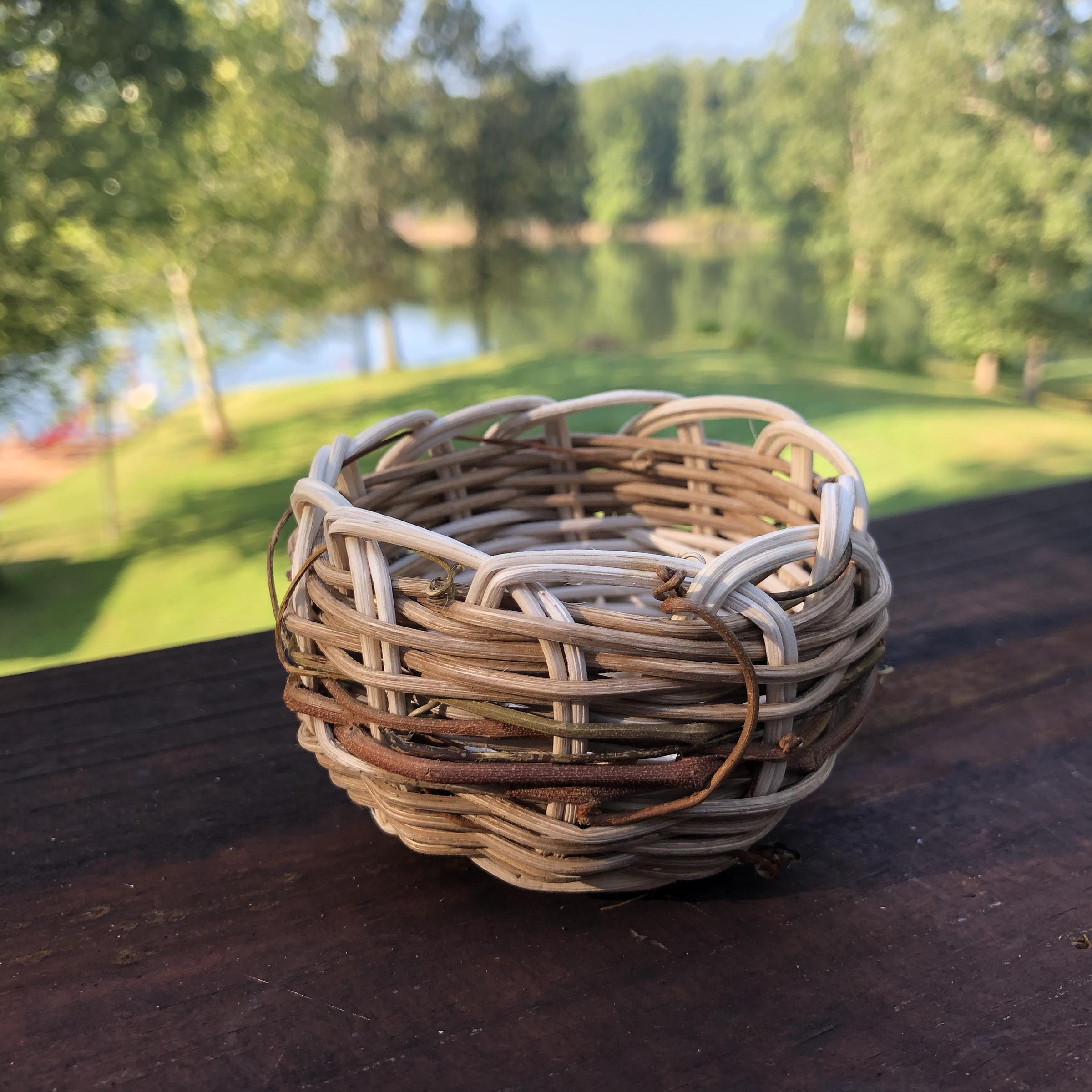 Weintraub_SchoolArts_Weaving Nests_Teacher Sample of Basket.jpg
