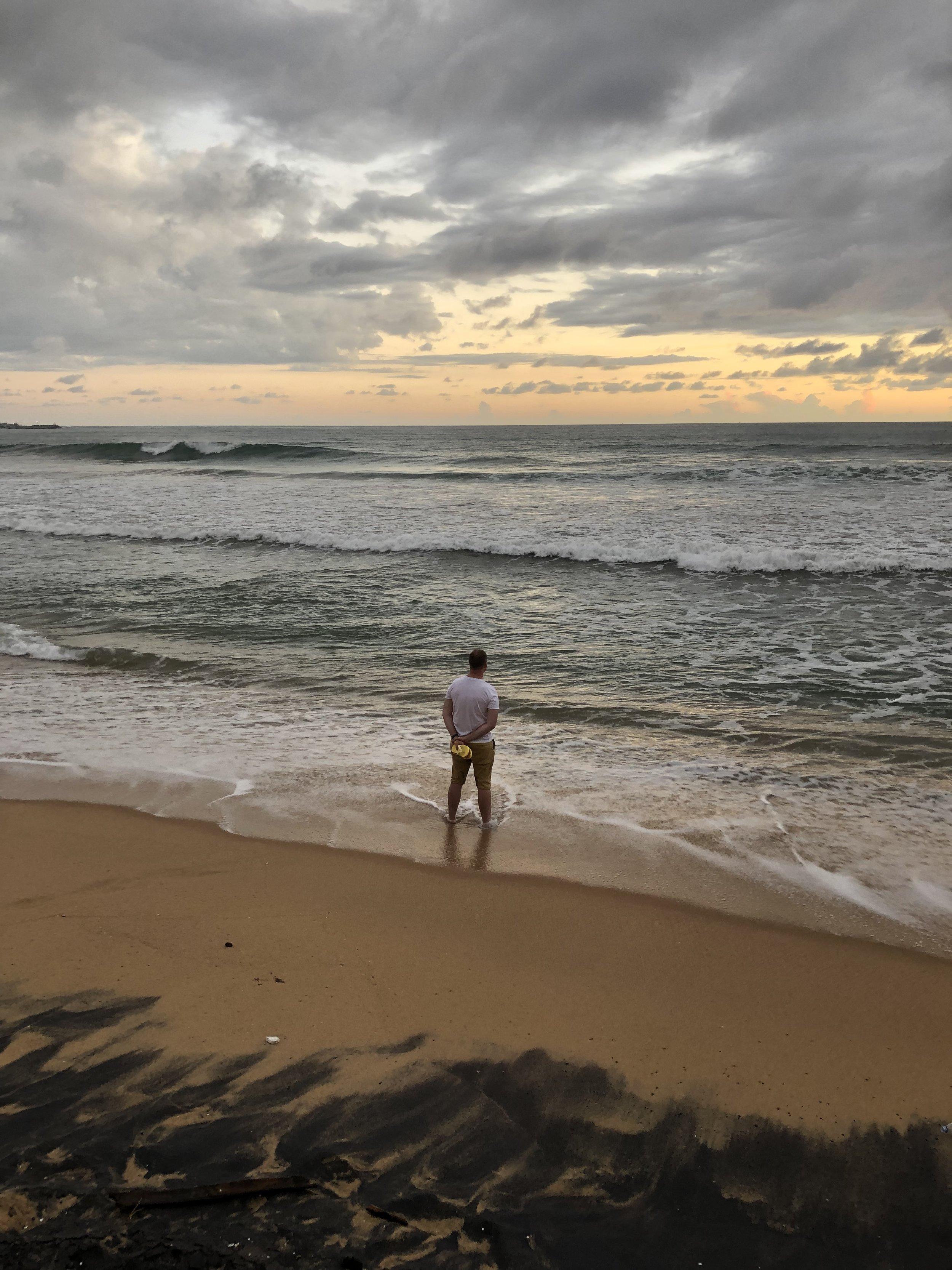 Me in Sri Lanka, 2018.