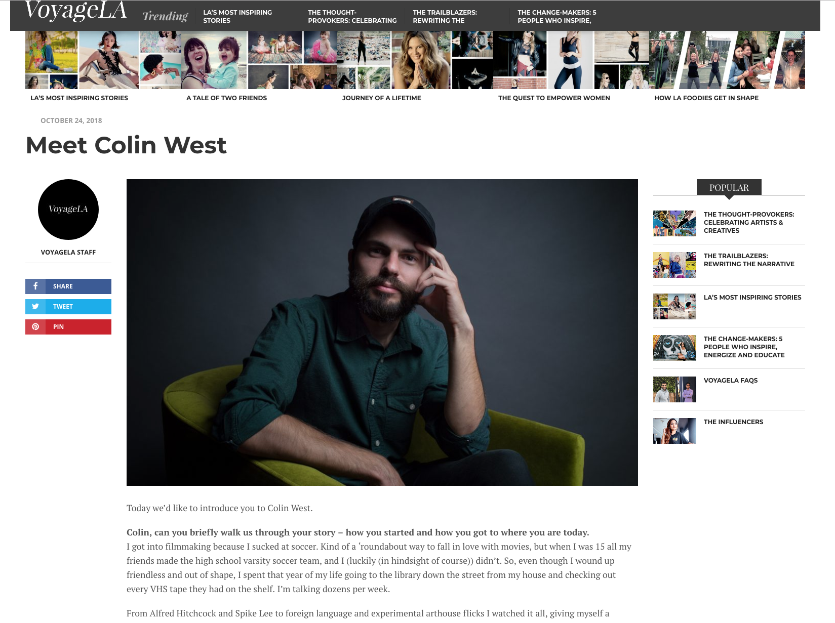 Colin West Interview.png