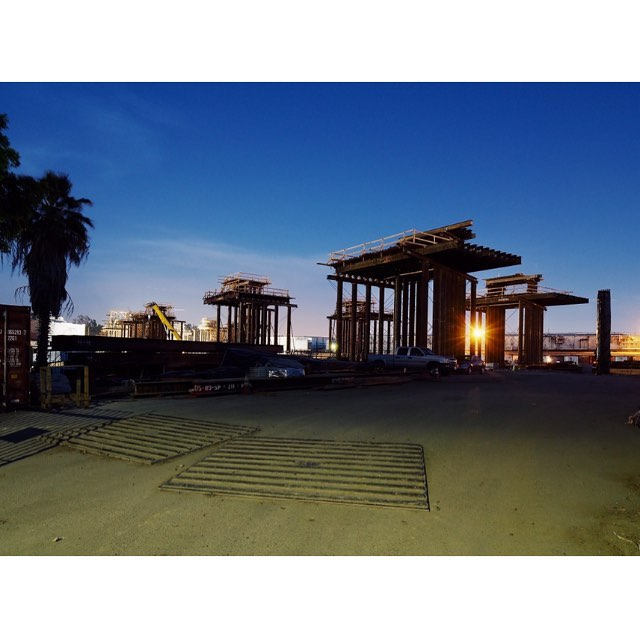 Future Ruins of Los Angeles: 3/3 #losangeles #construction #architecture #6thstreetbridge #bridge #michaelmaltzan #olympus #omd #ロサンゼルス #橋 #オリンパス