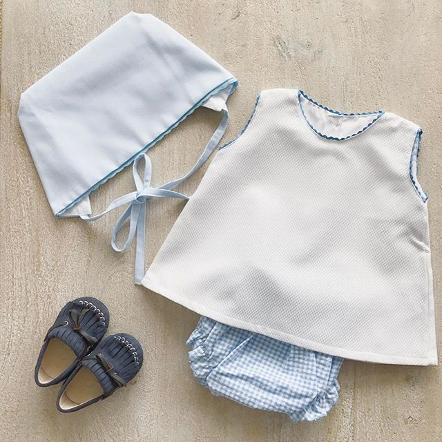 Oh boy! 💙💙💙 #baby #collection #Handmade #MadeInSpain #BabiesAreBabies #summer #blue #boy #girl #kidsfashion #clothing #european #style #melbourne #RowingAndCo