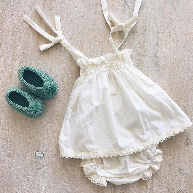 Now you can find this cute summer dress at Small Dreams in Yarrambat 😍😍😍 #ivory #plumetti #summer #dress #baby #girl #BabiesAreBabies #fashion #kidsfashion #handmade #MadeInSpain #clothing #melbourne #european #style #RowingAndCo q