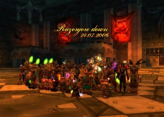 World of Warcraft - eine lange Geschichte der Sucht. :-) 2004 -2010