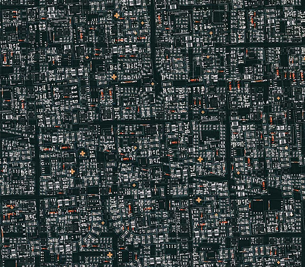 Circuit board cities
