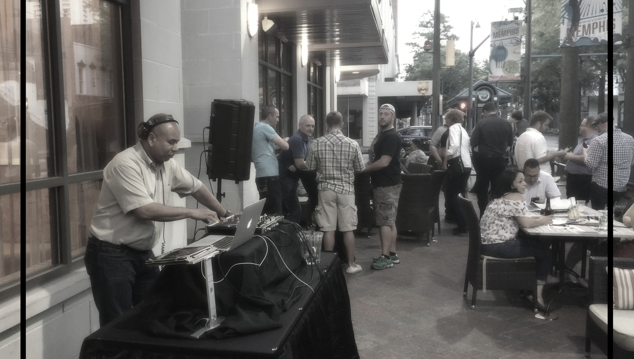 Tuesday Night Patio Party